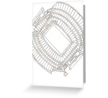 Black Hole Nation Greeting Card