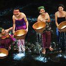 Rice Washing Ceremony (Bisoq Beras) by Mieke Boynton
