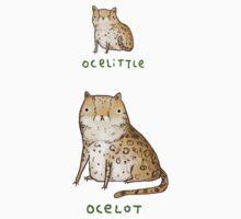Ocelittle Ocelot Kids Tee