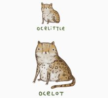 Ocelittle Ocelot Kids Tee