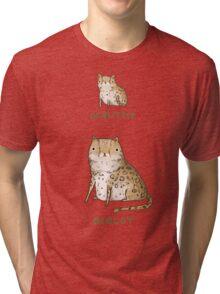 Ocelittle Ocelot Tri-blend T-Shirt