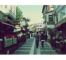 Walking in Beylerbeyi... Photographic Print
