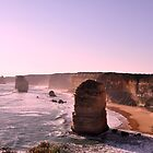 Late Afternoon - 12 Apostles, Great Ocean Road, Victoria by petejsmith