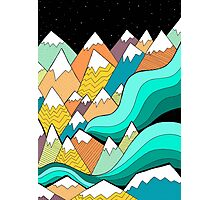 Waves of the mountains Photographic Print