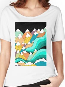 Waves of the mountains Women's Relaxed Fit T-Shirt