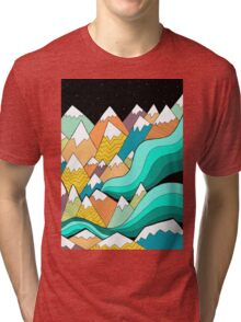 Waves of the mountains Tri-blend T-Shirt