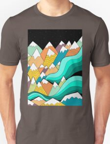 Waves of the mountains Unisex T-Shirt