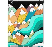 Waves of the mountains iPad Case/Skin