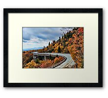 Infused by Autumn Framed Print