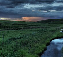 Evening Thunderstorm HDR by Michael Collier