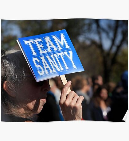 Rally to Restore Sanity - Washington, DC Poster