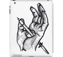 Hands of a killer  iPad Case/Skin