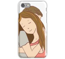 Young couple is hugging iPhone Case/Skin