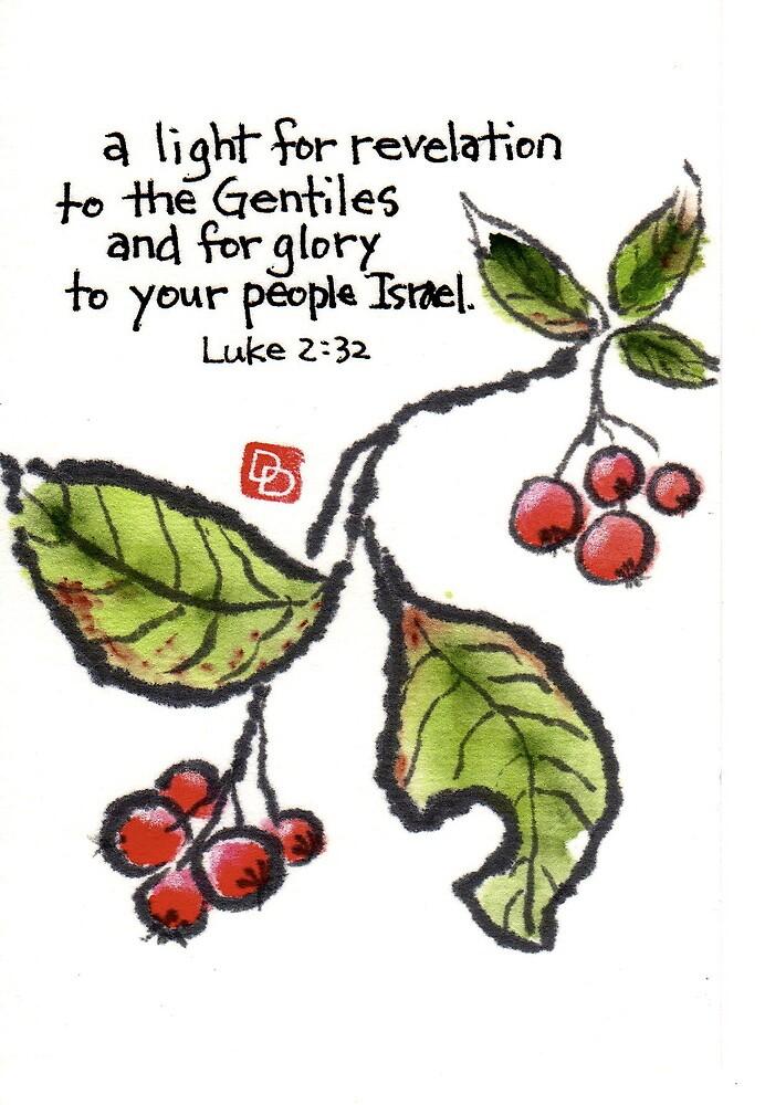 Kamatsuka Berries (Pourthiaea villosa) by dosankodebbie