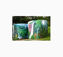 Twin Watertank Murals - Springbrook Unisex T-Shirt