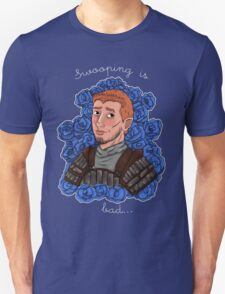 Swooping is Bad-'Blue' T-Shirt