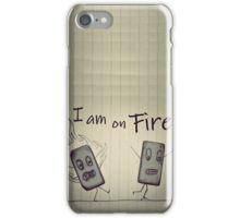 Eraser on FIRE iPhone Case/Skin
