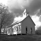 Cades Cove Church by Jimmy Phillips