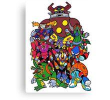 Mega Man X 2 Bosses Canvas Print