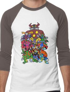 Mega Man X 2 Bosses Men's Baseball ¾ T-Shirt