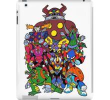 Mega Man X 2 Bosses iPad Case/Skin