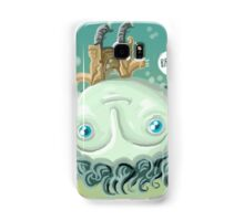 cute zombie in the water Samsung Galaxy Case/Skin