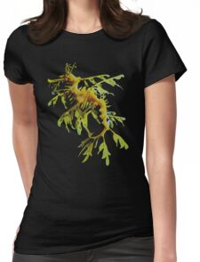 Leafy Sea Dragon Womens Fitted T-Shirt