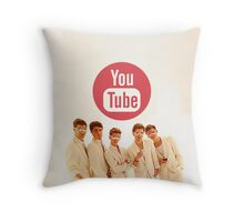 YouTube Boyband Throw Pillow