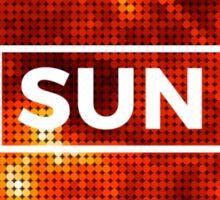 Sun Puzzle Sticker