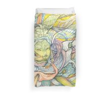 Compositions insect Duvet Cover