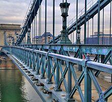 Széchenyi lánchíd (bridge) by zumi