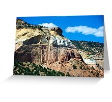 Attractive scenery in New Mexico Greeting Card