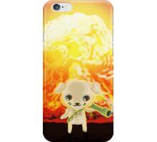 bazooka rocket puppy iPhone Case/Skin