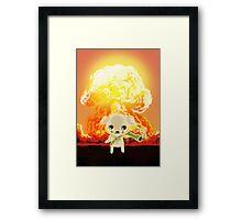 bazooka rocket puppy Framed Print