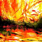 burning chinese junk... a cleansing  by banrai