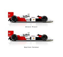 McLaren MP4/4 - Senna V Prost by JageOwen