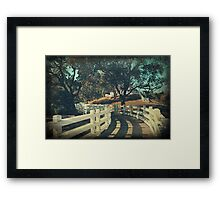 If We Get To The Other Side Framed Print