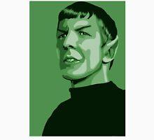First Officer Spock stylized in green Star Trek tos Unisex T-Shirt