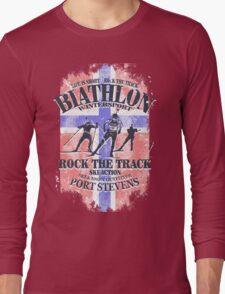 Biathlon  - Norway Flag Long Sleeve T-Shirt