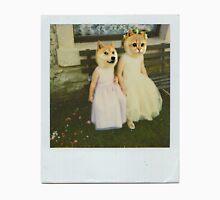 Polaroid doge and cat meme T-Shirt