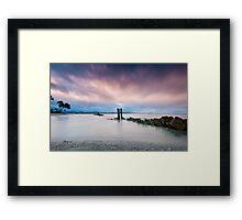 Waking Honolulu Framed Print
