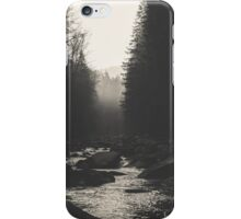 Morning river iPhone Case/Skin