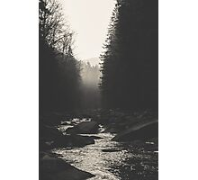 Morning river Photographic Print