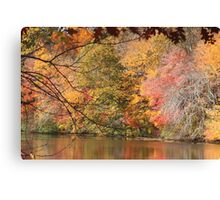 Autumn in Rhode Island Canvas Print