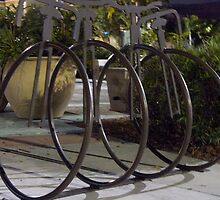 Unicycles Four by phil decocco
