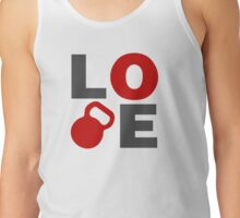 Love Kettlebell Workout Gym Exercise Tank Top