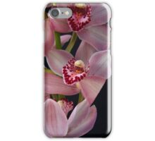 Pink Orchid Close Up iPhone Case/Skin