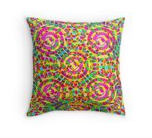 Mandala Fiesta Throw Pillow