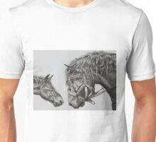 Horse with Foal Unisex T-Shirt
