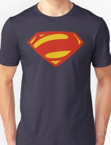 Man Of Steel Bizarro Red Logo Unisex T-Shirt